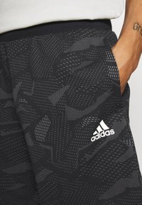 adidas Performance - SHORTS - Sports shorts - black/white - 4