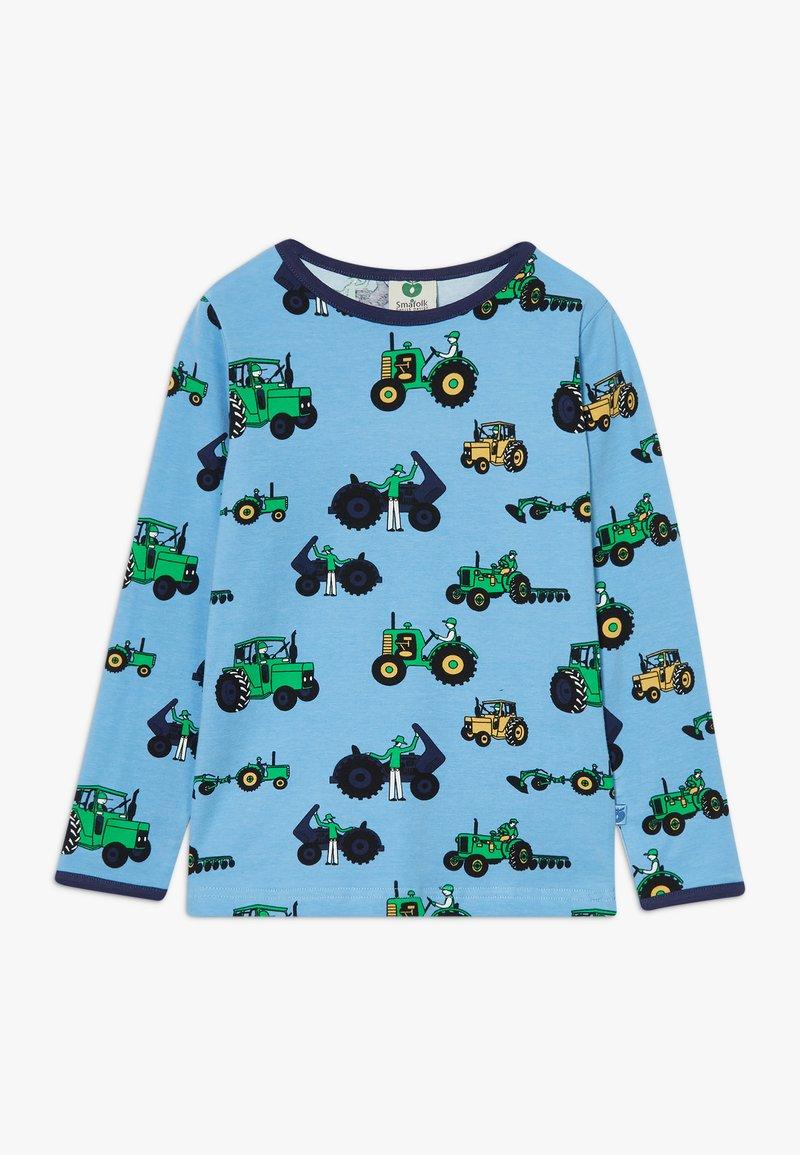 Småfolk - OLD TRACTOR - Langærmede T-shirts - sky blue
