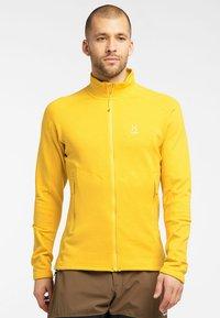 Haglöfs - HERON  - Fleece jacket - pumpkin yellow - 0