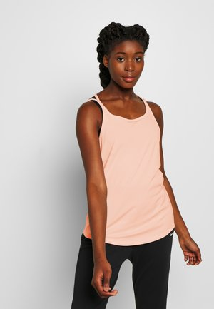 YOGA STRAPPY TANK - T-shirt sportiva - washed coral