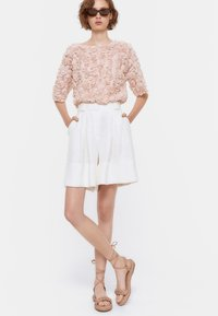 Uterqüe - Blouse - light pink - 1