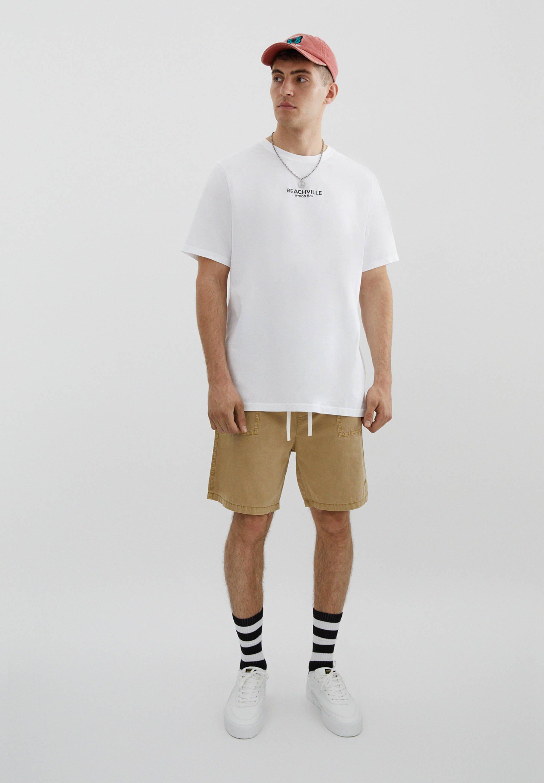 Herren MIT SLOGAN UND STRANDMOTIV - T-Shirt print