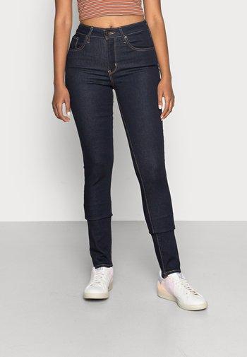 721™ HIGH RISE SKINNY - Jeans Skinny Fit - rinsed denim