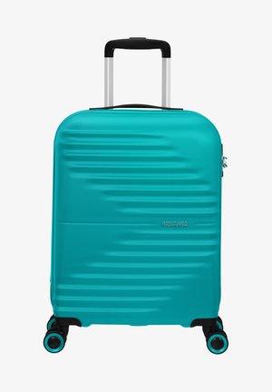 WAVETWISTER - Wheeled suitcase - aqua turquoise