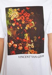 Even&Odd - T-shirts print - white - 5