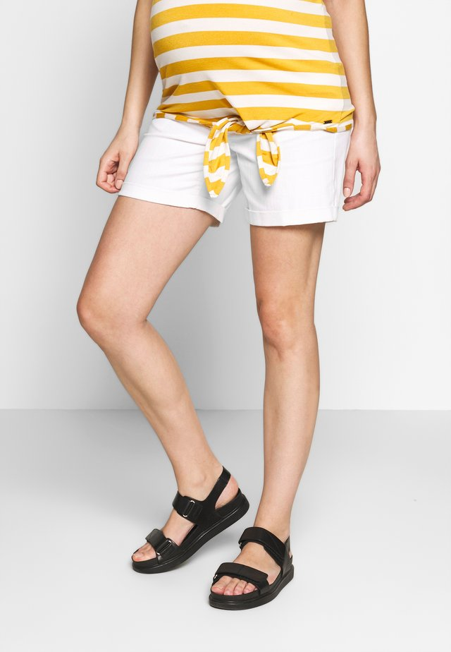 Jeans Shorts - bright white