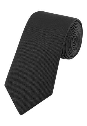 BURGUNDY WIDE  - Cravatta - black