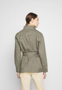 Saint Tropez - THEA JACKET - Summer jacket - army green - 2