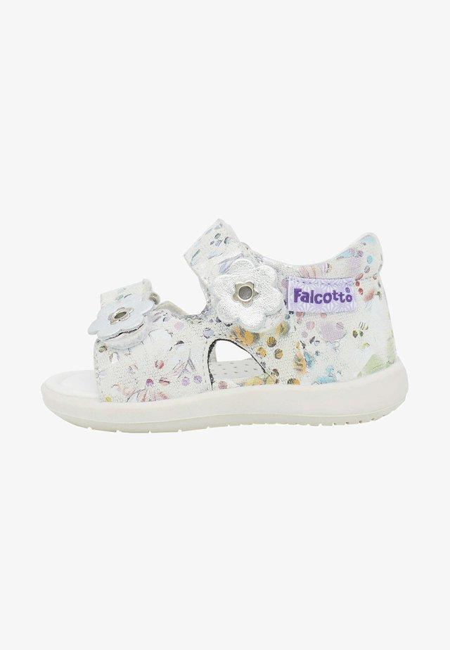 BENSO - Sandals - weiß