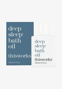 this works - THIS WORKS DEEP SLEEP BATH OIL - Bubble bath & soak - - - 0