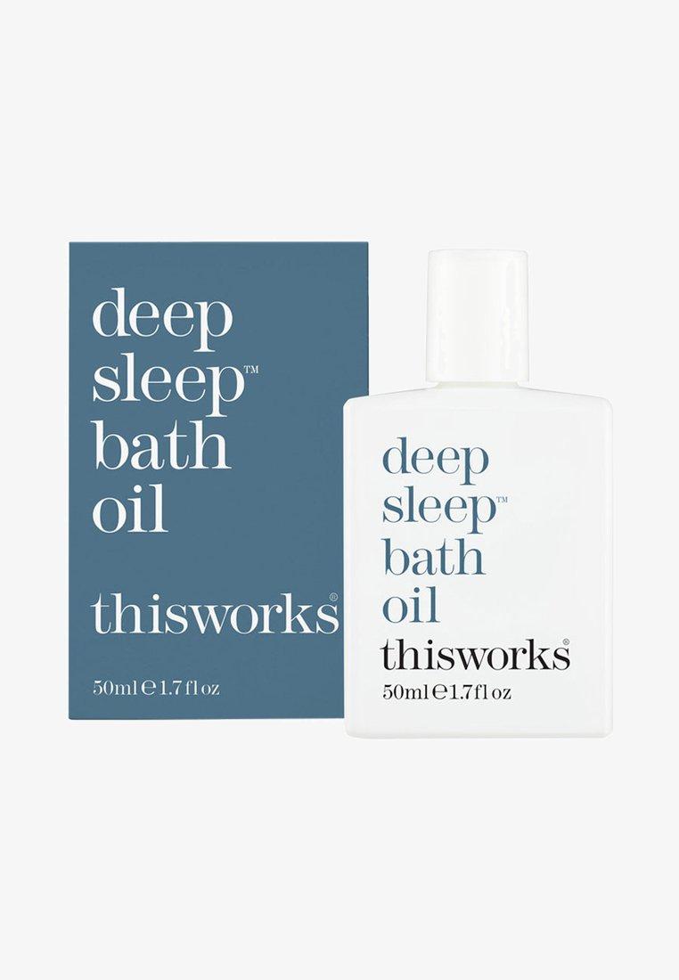 this works - THIS WORKS DEEP SLEEP BATH OIL - Bubble bath & soak - -