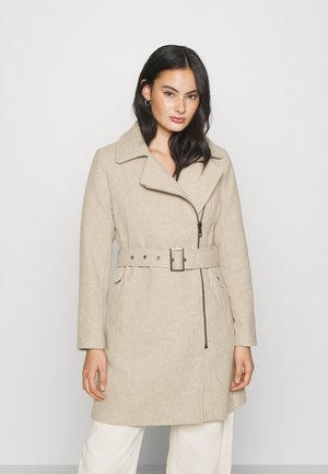 ONLOLIVIA LONG BIKER COAT - Abrigo - chateau gray