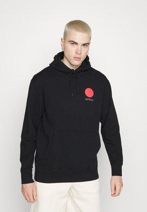 JAPANESE SUN HOODIE UNISEX - Sweatshirt - black