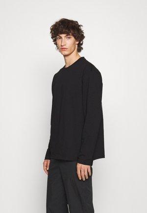 NORDIC - Långärmad tröja - black/white