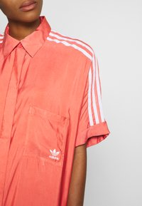 adidas Originals - DRESS - Shirt dress - trace scarlet - 5
