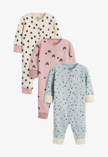 3 PACK - Sleep suit - teal