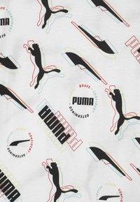 Puma - ALPHA UNISEX - Print T-shirt - puma white - 2