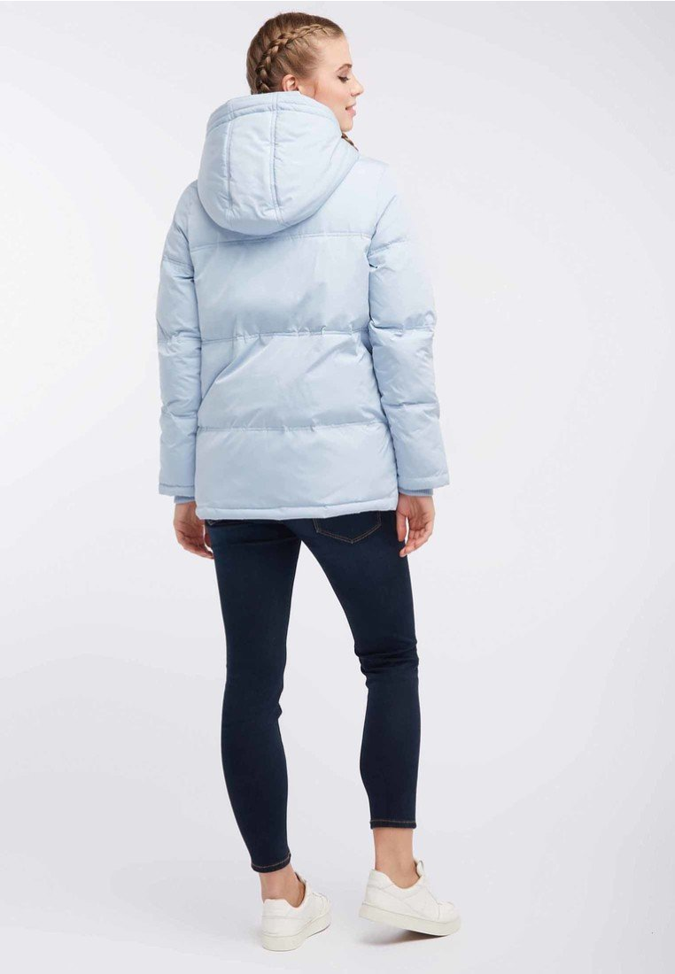 100% Guaranteed Women's Clothing myMo Winter jacket light blue NEm74Oi8A