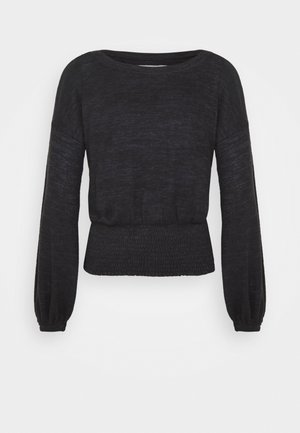 FASHION CORE COZY - Jumper - black