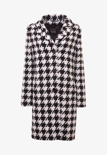 Classic coat - weiss/schwarz_hahnentritt