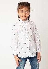 Gulliver - Button-down blouse - white - 0