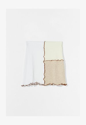 Mini skirt - stone