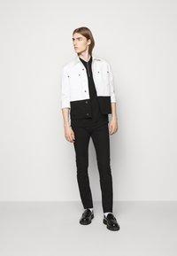 PS Paul Smith - MENS ZIP  - Polo shirt - black - 1