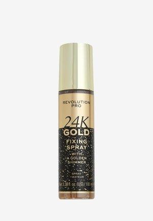 24K GOLD SETTING SPRAY - Setting spray & powder - -