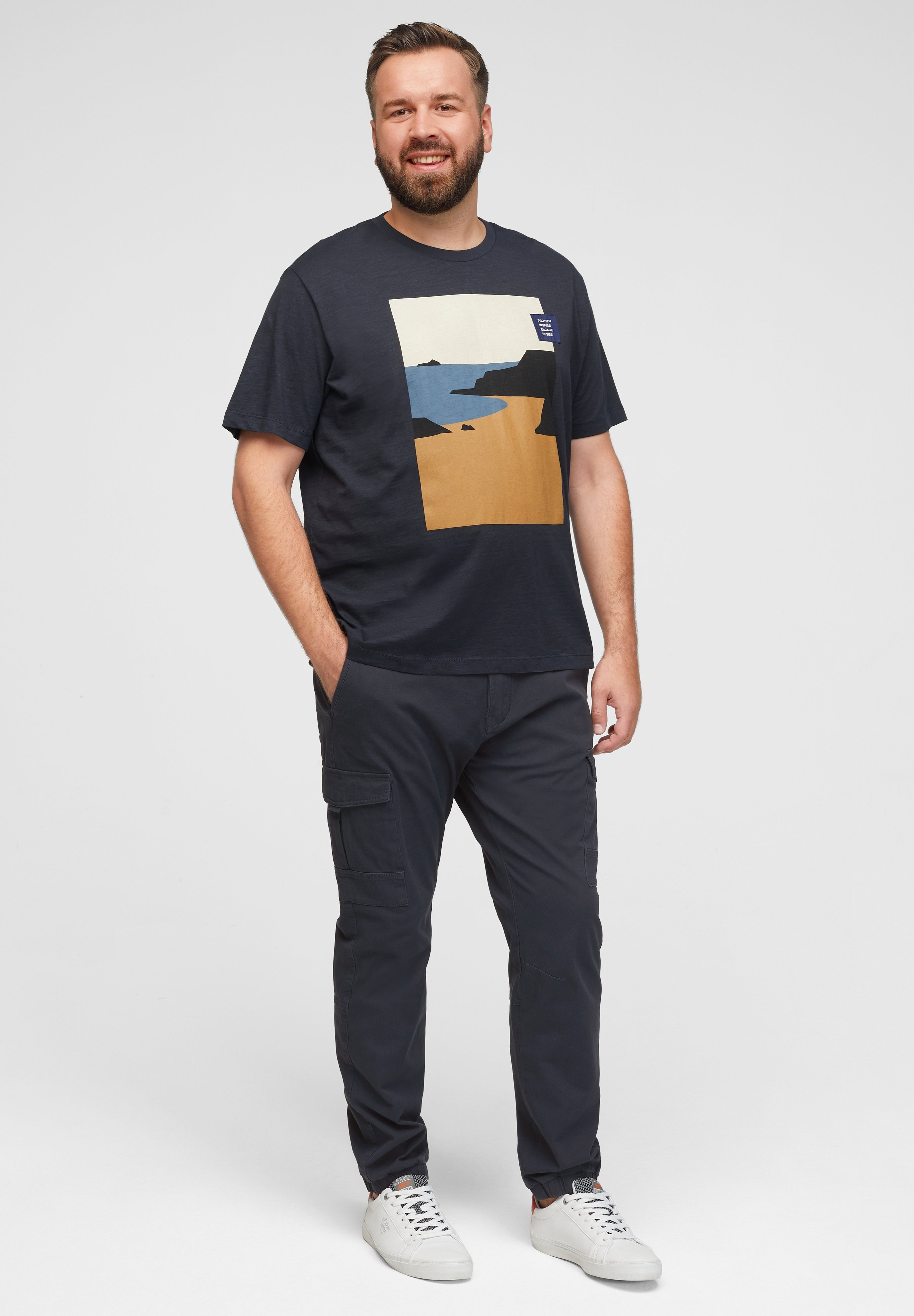 Homme REGULAR IN CARGOSTIJL - Pantalon cargo