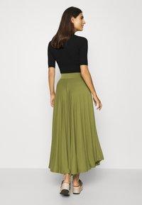 Esprit - A-line skirt - olive - 2