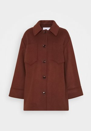 DIONE - Short coat - cinnamon