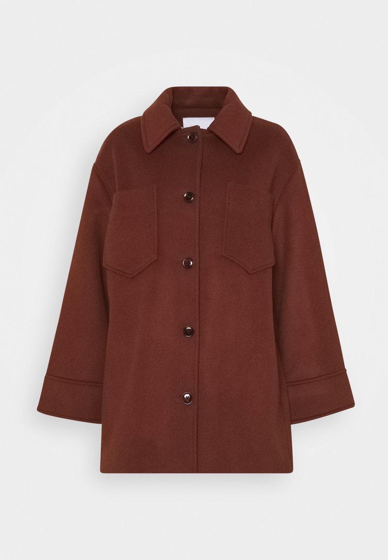 Samsøe Samsøe - DIONE - Short coat - cinnamon