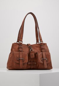 Tamaris - Across body bag - cognac - 1