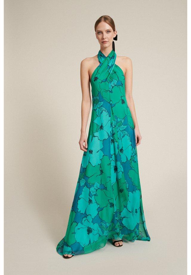 Maxiklänning - turchese-verde