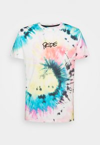 Print T-shirt - med grey