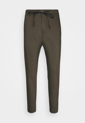 JEGER - Pantalon classique - mottled olive