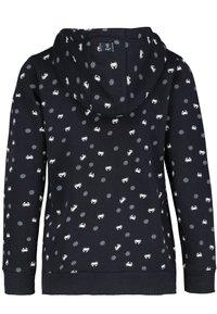 Sublevel - Zip-up sweatshirt - black - 1
