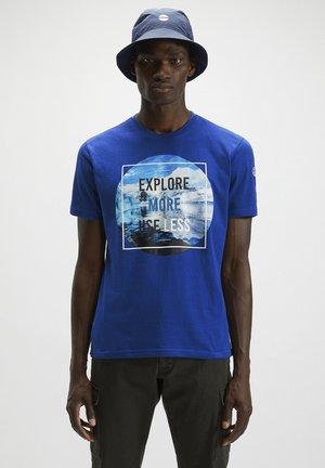 T-shirt imprimé - ocean blue