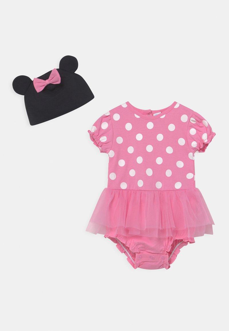 OVS - SHORT  - Camiseta estampada - sachet pink