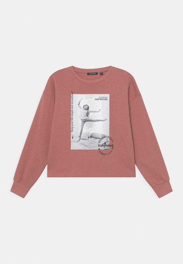 GIRLS  - Sweater - mauve