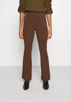 VIOLET TROUSERS - Bukse - brown