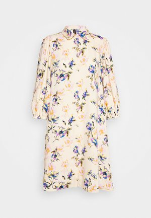 YASSOPHIA SHIRT DRESS - Skjortekjole - light yellow