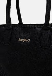 Desigual - BOLS ALEXANDRA HOLBOX MIN - Handbag - black - 4