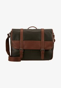 Pier One - Briefcase - oliv/cognac - 5