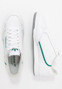 adidas Originals - CONTINENTAL - Sneakers - footware white/collegiate green/core green - 1