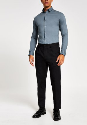 MUSCLE FIT - Formal shirt - blue