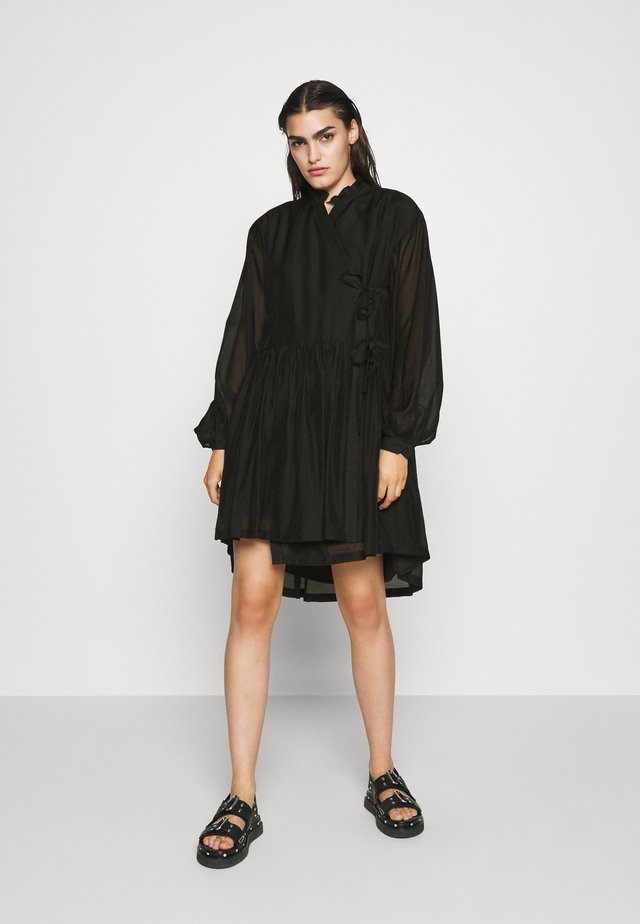 SONIA DRESS - Korte jurk - black