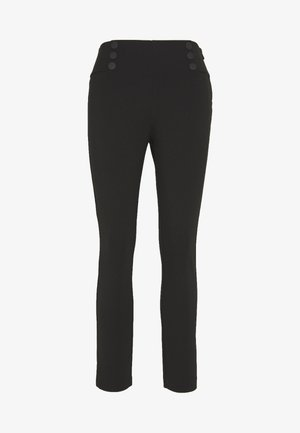 LONDON STYLE FASHION PANTS - Leggings - Trousers - black