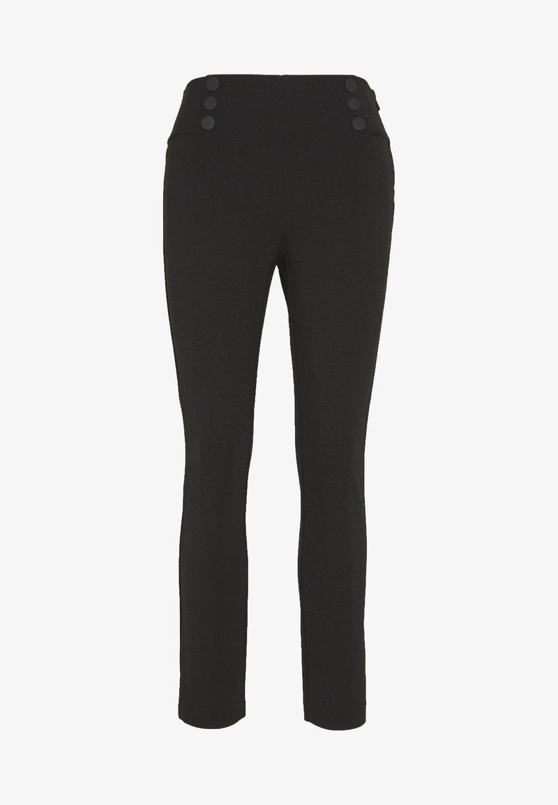 Steffen Schraut - LONDON STYLE FASHION PANTS - Leggings - black