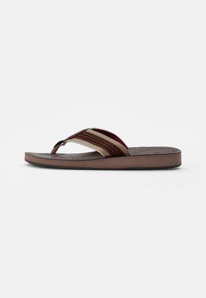 COMBO - T-bar sandals - java